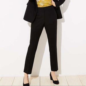 LOFT Black Marisa Slim Pencil Pants 6